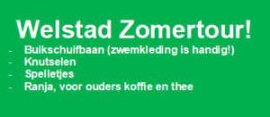 Welstad Zomertour @ Jeugdsoos de Bun